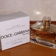 DOLCE & GABBANA THE ONE 75 ml DAMA │PARFUM TESTER