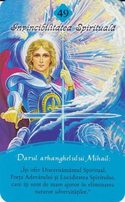 CARTI ORACOL/Tarot ARHANGHELI in romana, ed limitata/format mare+carte foto