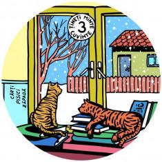 Coaster- Zapadă, pisici, cărți