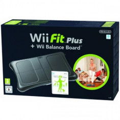 Wii Fit Plus + Wii Balance Board Black