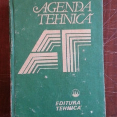 Agenda tehnica
