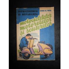 GEORGE AL. MAYER - INTRETINEREA SI REPARAREA MOTOCICLETELOR SI SCUTERELOR (1959)