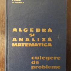 ALGEBRA SI ANALIZA MATEMATICA-N.DONCIU