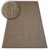 Covor sisal Flat 48663/870 maro , 200x290 cm, Dreptunghi