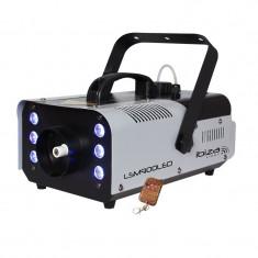 Masina de fum Ibiza 900W cu LED-uri 6x3W, DMX