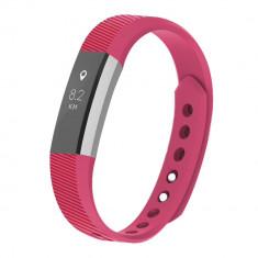 Curea Bratara pentru Fitbit Alta/Fitbit Alta HR, marimea S, Roz Inchis