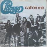 "Chicago - Call On Me (1974, CBS) Disc vinil single 7"""