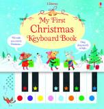 My First Christmas Keyboard Book - Carte Usborne (3+)
