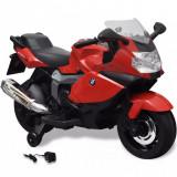 Motocicletă electrică pentru copii BMW 283, 6V, roșu, vidaXL
