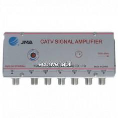 Amplificator Semnal TV Spliter 6 Iesiri 1020MK6 20dB