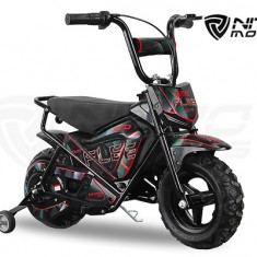 Mini Motocicleta electrica pentru copii NITRO ECO Flee 250W #Negru