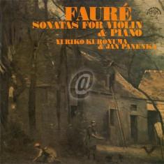 Faure - Sonatas for Violin and Piano (Vinil)