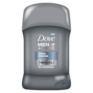 Deodorant antiperspirant stick 48h Dove Men+Care Cool Fresh 50ml