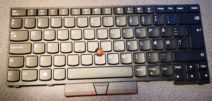 Tastatura originala Lenovo Thinkpad T480S, backlight, noua (zero ore utilizare)