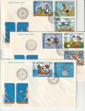 Romania FDC  ,Desene animate,nr lista 1224.