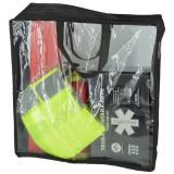 PACHET COMPLET - trusa, 2x triunghiuri, stingator, vesta, geanta transparenta ManiaCars