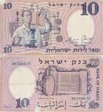 1958 , 10 lirot ( P-32c ) - Israel