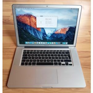 Macbook Pro 15 High Resolution - 2011 - i7 - 8 GB RAM - SSD 240 GB - Ati Radeon
