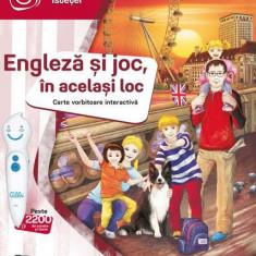 Carte interactiva Raspundel Istetel - Engleza si Joc in acelasi loc