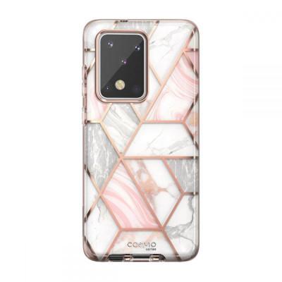 Carcasa stylish Supcase Cosmo Samsung Galaxy S20 Ultra Marble foto