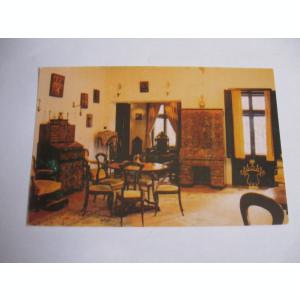 Carte postala - Sinaia, Casa memoriala George Enescu