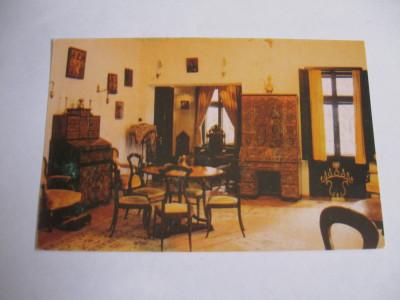 Carte postala - Sinaia, Casa memoriala George Enescu foto