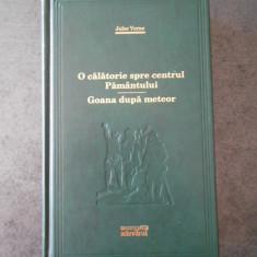 JULES VERNE - O CALATORIE SPRE CENTRUL PAMANTULUI (Colectia Adevarul)