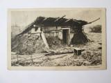 Rara! Carte postala circulata 1918 Carei,cazemata militară Austro-Ungară WWI, Fotografie, Satu Mare