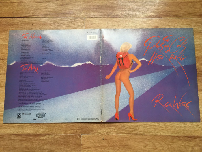 ROGER WATERS ( PINK FLOYD ) - The Pros and Cons of Hitch (1984,HARVEST,EEC) LP