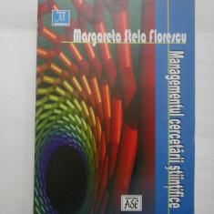 MANAGEMENTUL CERCETARII STIINTIFICE - MARGARETA STELA FLORESCU