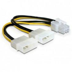 Delock Cablu alimentare placa PCI Express 15cm