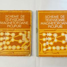Carte Scheme de televizoare magnetofoane picupuri - vol. 1 si 2