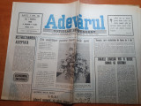 Ziarul adevarul 1 martie 1990- un martisor pt toate femeile tarii