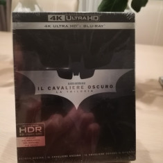 Trilogia Cavalerul Negru 4K UHD sigilata., BLU RAY, Romana