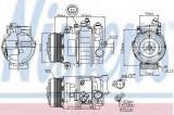 Compresor clima / aer conditionat MERCEDES E-CLASS Cabriolet (A207) (2010 - 2016) NISSENS 89039