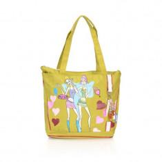 Geanta Fashion Pink Girl A11495 Lamonza, Verde