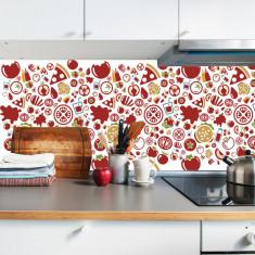 "Sticker Autocolant Faianta Decorativa ""Kitchen Design"" model K-FOL-22 (pret/metru liniar)"