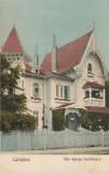 CAMPINA ,VILA GEORGE DUMITRESCU,CIRCULAT 1927 ,ROMANIA., Circulata, Fotografie