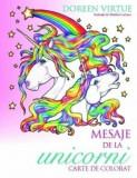 Cumpara ieftin Mesaje de la unicorni. Carte de colorat/Doreen Virtue