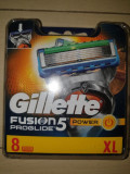 Set 8 rezerve gillette Fusion Proglide Power (noi)