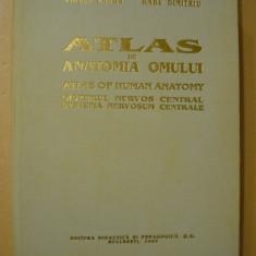 RANGA / DIMITRIU - ATLAS DE ANATOMIA OMULUI ( SISTEMUL NERVOS CENTRAL ) - 1993