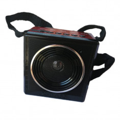 Radio portabil Kemai MD-81U, USB, suport card SD, mp3 audio, acumulator