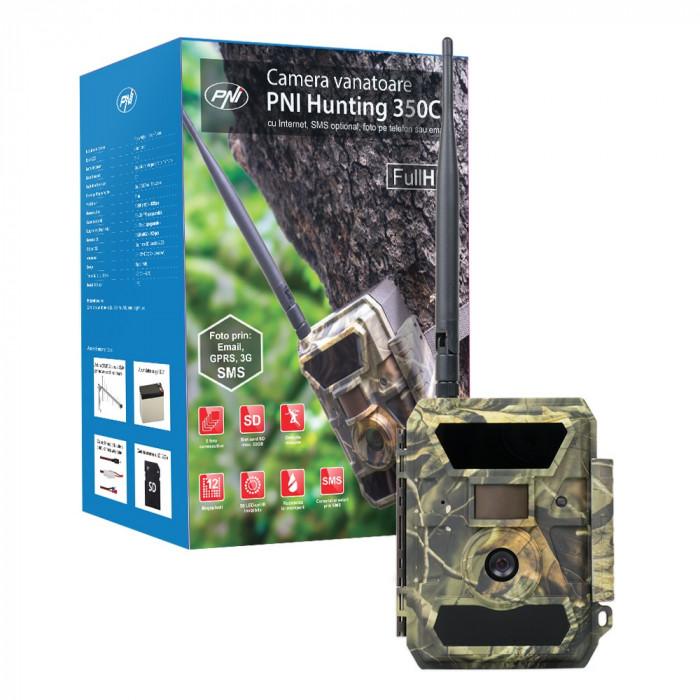 Resigilat : Camera vanatoare PNI Hunting 350C 12M cu Internet, SMS optional, foto