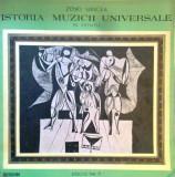Istoria muzicii universale in exemple. Discul nr. 5 (Vinil)