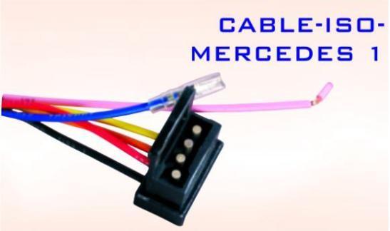 Conector auto ISO-MERCEDES 1 Mall