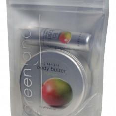 Pachet Promotional Greenland Balsam de Buze Unt de Corp cu Mango