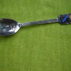 Lingurita suedeza argintata cu blazon 3