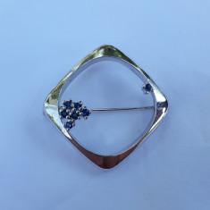 BROSA argint EXCEPTIONALA eleganta LUXURY de efect SPLENDIDA stare IMPECABILA
