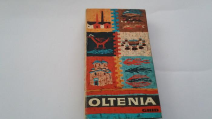 OLTENIA  GHID TURISTIC AL REGIUNII-CONTINE HARTA