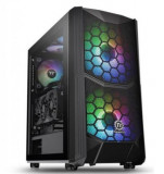 Carcasa Thermaltake Commander C35, Middle Tower, Tempered Glass, ARGB